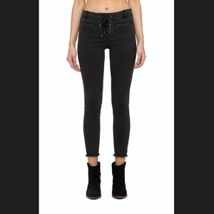 Amuse Society Lace Up Jeans